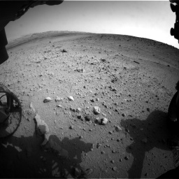 Nasa's Mars rover Curiosity acquired this image using its Front Hazard Avoidance Camera (Front Hazcam) on Sol 665, at drive 1064, site number 36