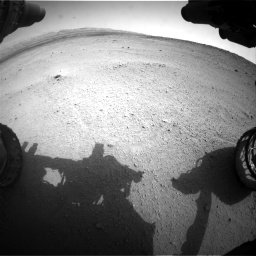 Nasa's Mars rover Curiosity acquired this image using its Front Hazard Avoidance Camera (Front Hazcam) on Sol 665, at drive 836, site number 36