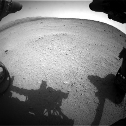 Nasa's Mars rover Curiosity acquired this image using its Front Hazard Avoidance Camera (Front Hazcam) on Sol 665, at drive 842, site number 36