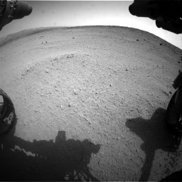 Nasa's Mars rover Curiosity acquired this image using its Front Hazard Avoidance Camera (Front Hazcam) on Sol 665, at drive 848, site number 36