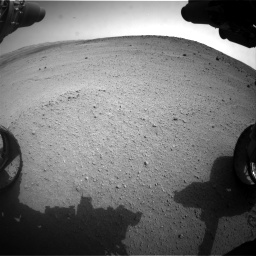 Nasa's Mars rover Curiosity acquired this image using its Front Hazard Avoidance Camera (Front Hazcam) on Sol 665, at drive 854, site number 36