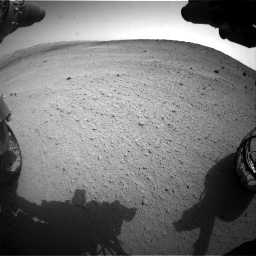 Nasa's Mars rover Curiosity acquired this image using its Front Hazard Avoidance Camera (Front Hazcam) on Sol 665, at drive 878, site number 36