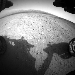 Nasa's Mars rover Curiosity acquired this image using its Front Hazard Avoidance Camera (Front Hazcam) on Sol 665, at drive 1022, site number 36