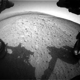 Nasa's Mars rover Curiosity acquired this image using its Front Hazard Avoidance Camera (Front Hazcam) on Sol 665, at drive 1028, site number 36