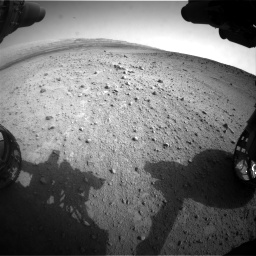 Nasa's Mars rover Curiosity acquired this image using its Front Hazard Avoidance Camera (Front Hazcam) on Sol 665, at drive 1034, site number 36