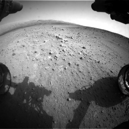 Nasa's Mars rover Curiosity acquired this image using its Front Hazard Avoidance Camera (Front Hazcam) on Sol 665, at drive 1040, site number 36