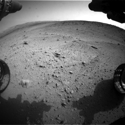 Nasa's Mars rover Curiosity acquired this image using its Front Hazard Avoidance Camera (Front Hazcam) on Sol 665, at drive 1076, site number 36