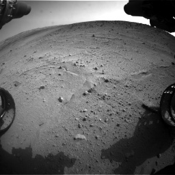 Nasa's Mars rover Curiosity acquired this image using its Front Hazard Avoidance Camera (Front Hazcam) on Sol 665, at drive 1094, site number 36