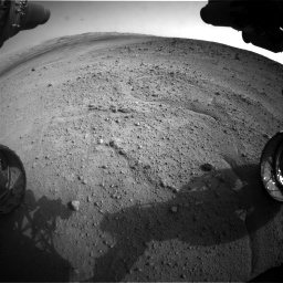 Nasa's Mars rover Curiosity acquired this image using its Front Hazard Avoidance Camera (Front Hazcam) on Sol 665, at drive 1124, site number 36