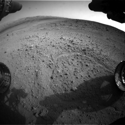 Nasa's Mars rover Curiosity acquired this image using its Front Hazard Avoidance Camera (Front Hazcam) on Sol 665, at drive 1130, site number 36