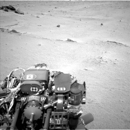 Nasa's Mars rover Curiosity acquired this image using its Left Navigation Camera on Sol 665, at drive 806, site number 36