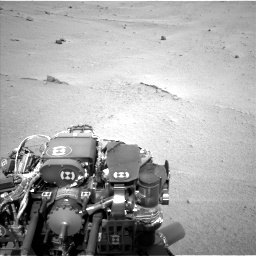 Nasa's Mars rover Curiosity acquired this image using its Left Navigation Camera on Sol 665, at drive 818, site number 36