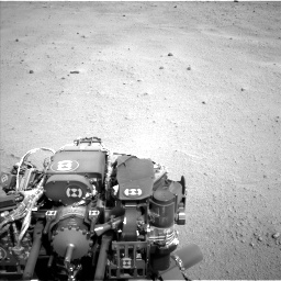Nasa's Mars rover Curiosity acquired this image using its Left Navigation Camera on Sol 665, at drive 842, site number 36