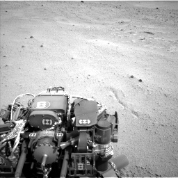 Nasa's Mars rover Curiosity acquired this image using its Left Navigation Camera on Sol 665, at drive 854, site number 36