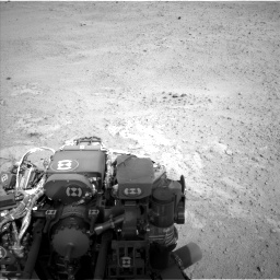 Nasa's Mars rover Curiosity acquired this image using its Left Navigation Camera on Sol 665, at drive 1004, site number 36