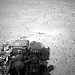 Nasa's Mars rover Curiosity acquired this image using its Left Navigation Camera on Sol 665, at drive 1022, site number 36