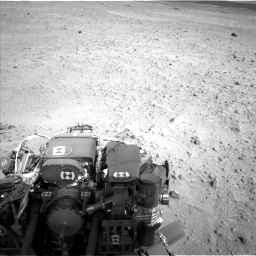 Nasa's Mars rover Curiosity acquired this image using its Left Navigation Camera on Sol 665, at drive 1034, site number 36