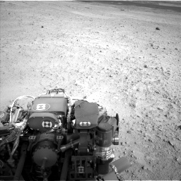 Nasa's Mars rover Curiosity acquired this image using its Left Navigation Camera on Sol 665, at drive 1046, site number 36