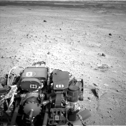 Nasa's Mars rover Curiosity acquired this image using its Left Navigation Camera on Sol 665, at drive 1076, site number 36