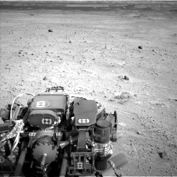 Nasa's Mars rover Curiosity acquired this image using its Left Navigation Camera on Sol 665, at drive 1082, site number 36
