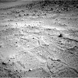 Nasa's Mars rover Curiosity acquired this image using its Left Navigation Camera on Sol 665, at drive 1094, site number 36