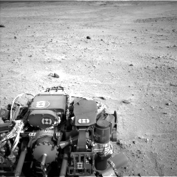 Nasa's Mars rover Curiosity acquired this image using its Left Navigation Camera on Sol 665, at drive 1100, site number 36