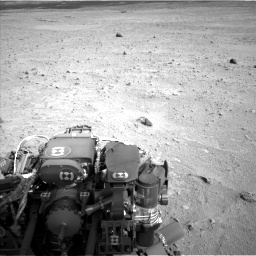 Nasa's Mars rover Curiosity acquired this image using its Left Navigation Camera on Sol 665, at drive 1112, site number 36