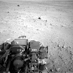 Nasa's Mars rover Curiosity acquired this image using its Left Navigation Camera on Sol 665, at drive 1130, site number 36
