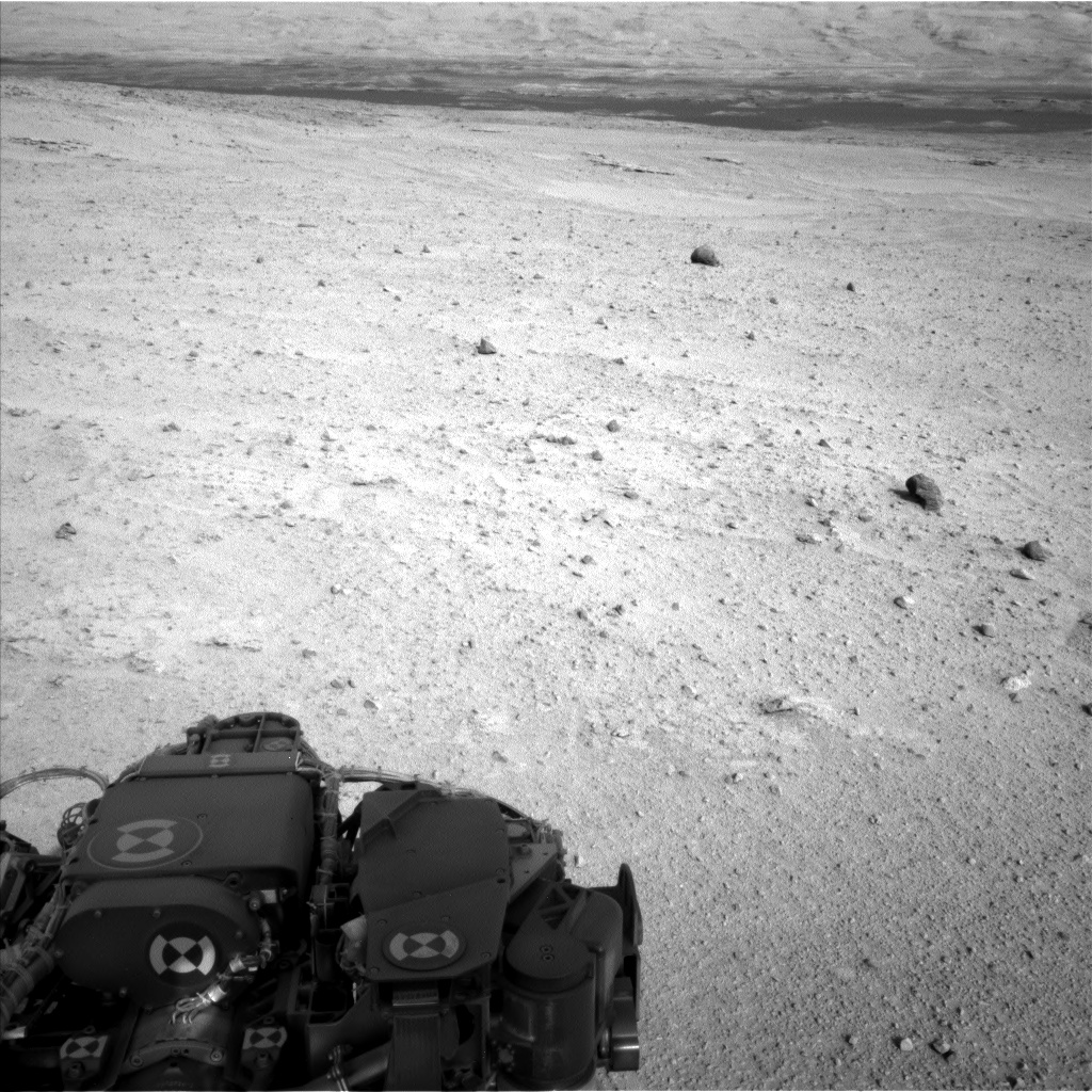 Nasa's Mars rover Curiosity acquired this image using its Left Navigation Camera on Sol 665, at drive 1146, site number 36