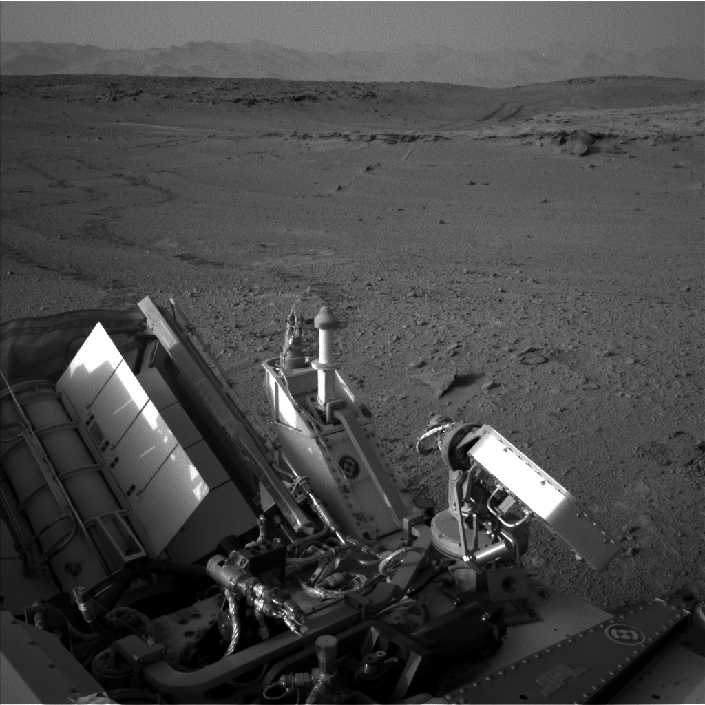 NASA's Mars rover Curiosity acquired this image using its Left Navigation Camera (Navcams) on Sol 665