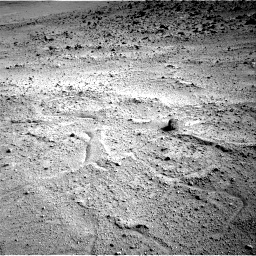 Nasa's Mars rover Curiosity acquired this image using its Right Navigation Camera on Sol 665, at drive 1100, site number 36