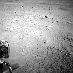Nasa's Mars rover Curiosity acquired this image using its Right Navigation Camera on Sol 665, at drive 1124, site number 36