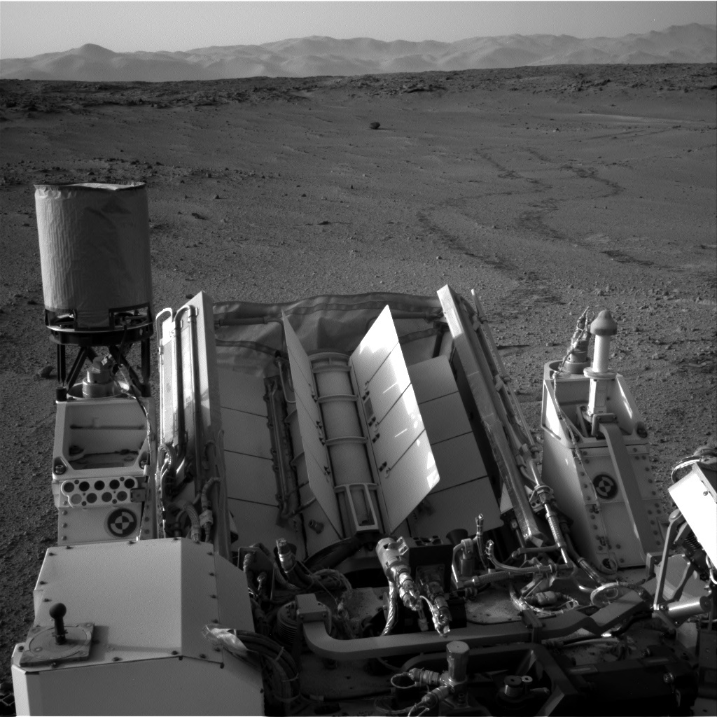 NASA's Mars rover Curiosity acquired this image using its Right Navigation Cameras (Navcams) on Sol 665