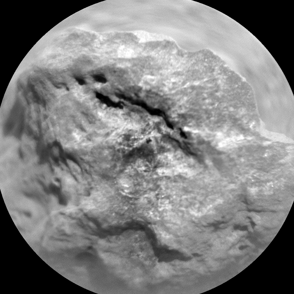 Nasa's Mars rover Curiosity acquired this image using its Chemistry & Camera (ChemCam) on Sol 666, at drive 1146, site number 36