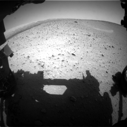 Nasa's Mars rover Curiosity acquired this image using its Front Hazard Avoidance Camera (Front Hazcam) on Sol 668, at drive 1566, site number 36