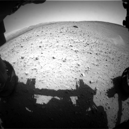 Nasa's Mars rover Curiosity acquired this image using its Front Hazard Avoidance Camera (Front Hazcam) on Sol 668, at drive 1626, site number 36