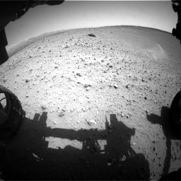 Nasa's Mars rover Curiosity acquired this image using its Front Hazard Avoidance Camera (Front Hazcam) on Sol 668, at drive 1632, site number 36