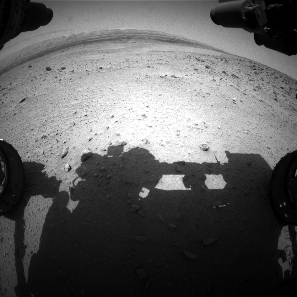 Nasa's Mars rover Curiosity acquired this image using its Front Hazard Avoidance Camera (Front Hazcam) on Sol 668, at drive 1170, site number 36