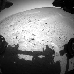 Nasa's Mars rover Curiosity acquired this image using its Front Hazard Avoidance Camera (Front Hazcam) on Sol 668, at drive 1530, site number 36