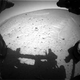 Nasa's Mars rover Curiosity acquired this image using its Front Hazard Avoidance Camera (Front Hazcam) on Sol 668, at drive 1542, site number 36