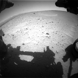Nasa's Mars rover Curiosity acquired this image using its Front Hazard Avoidance Camera (Front Hazcam) on Sol 668, at drive 1554, site number 36