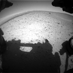 Nasa's Mars rover Curiosity acquired this image using its Front Hazard Avoidance Camera (Front Hazcam) on Sol 668, at drive 1572, site number 36