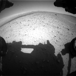 Nasa's Mars rover Curiosity acquired this image using its Front Hazard Avoidance Camera (Front Hazcam) on Sol 668, at drive 1578, site number 36
