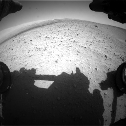Nasa's Mars rover Curiosity acquired this image using its Front Hazard Avoidance Camera (Front Hazcam) on Sol 668, at drive 1584, site number 36