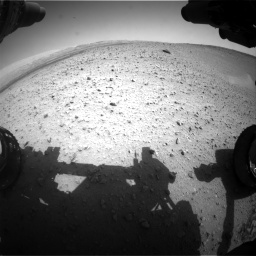 Nasa's Mars rover Curiosity acquired this image using its Front Hazard Avoidance Camera (Front Hazcam) on Sol 668, at drive 1608, site number 36