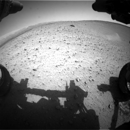 Nasa's Mars rover Curiosity acquired this image using its Front Hazard Avoidance Camera (Front Hazcam) on Sol 668, at drive 1620, site number 36