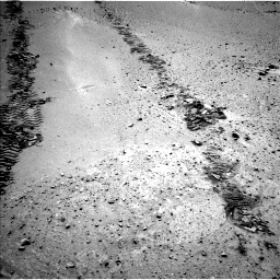 Nasa's Mars rover Curiosity acquired this image using its Left Navigation Camera on Sol 668, at drive 1410, site number 36