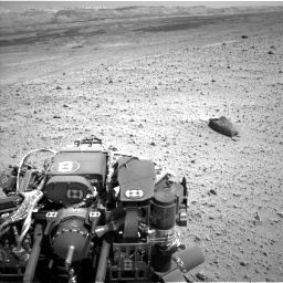 Nasa's Mars rover Curiosity acquired this image using its Left Navigation Camera on Sol 668, at drive 1656, site number 36