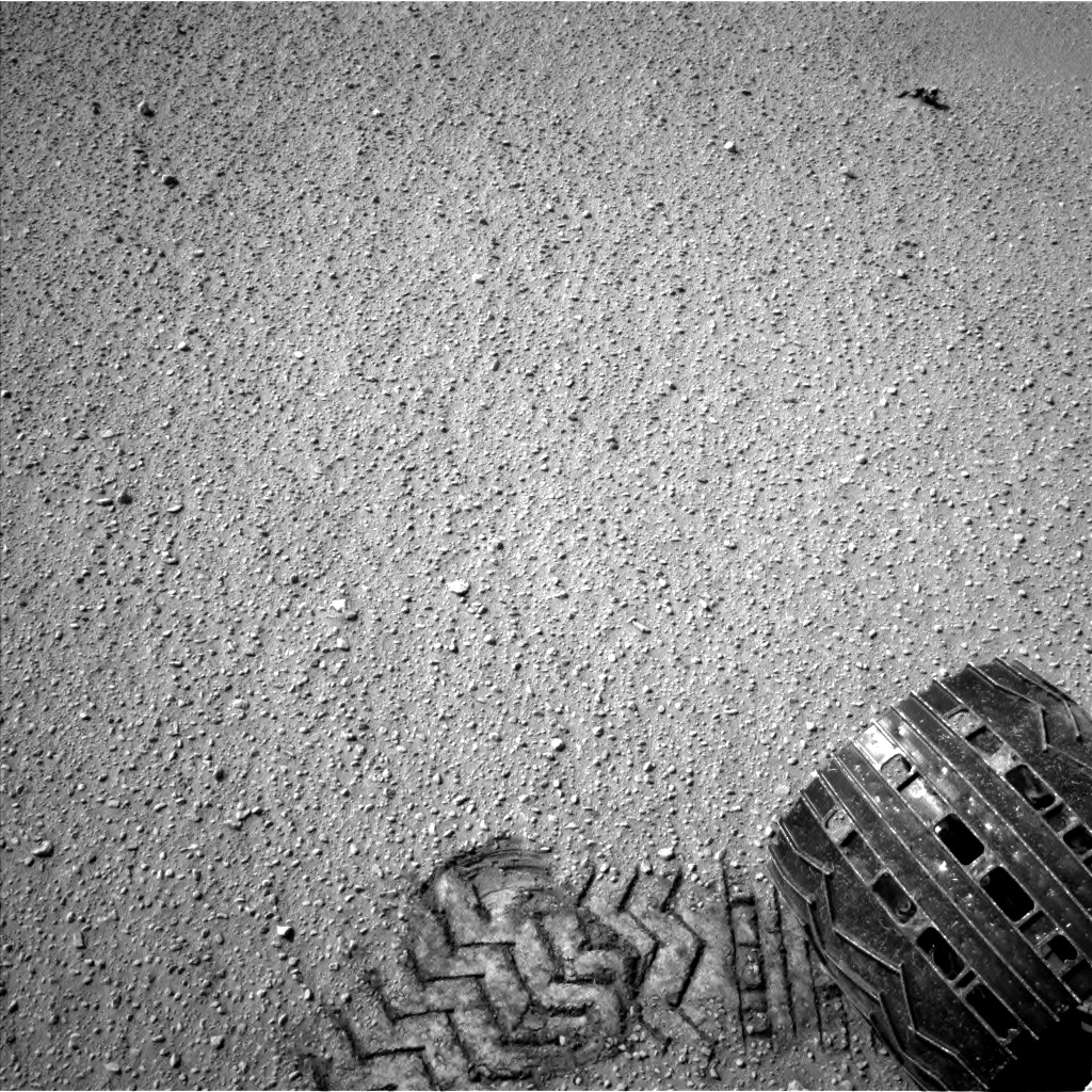 Nasa's Mars rover Curiosity acquired this image using its Left Navigation Camera on Sol 668, at drive 0, site number 37