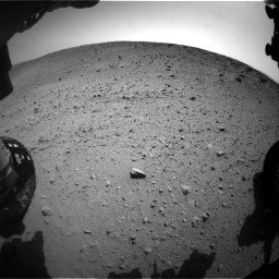 Nasa's Mars rover Curiosity acquired this image using its Front Hazard Avoidance Camera (Front Hazcam) on Sol 669, at drive 228, site number 37